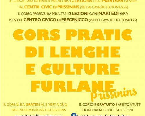 Cors pratic di lenghe e culture furlane Prissinins
