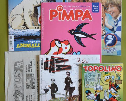 I periodici della Biblioteca Villa Dora