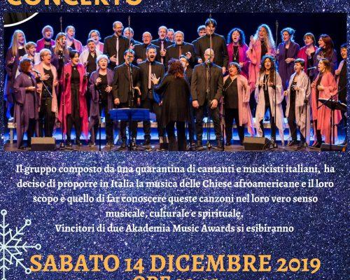 Harmony Gospel Singers in concerto