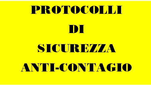 Protocolli di sicurezza anti Covid-19