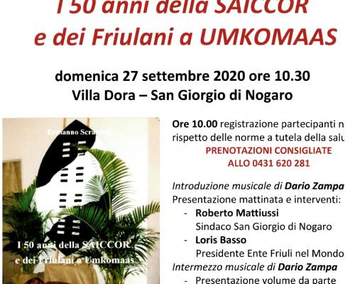 I 50 anni della Saiccor e dei Friulani a Umkomaas